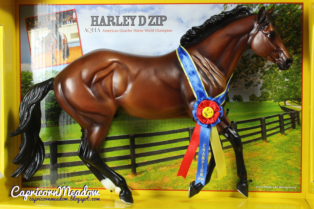 1cbbaf70c4a0 Capricorn Meadow  Breyer Traditional - Harley D Zip nr 1718
